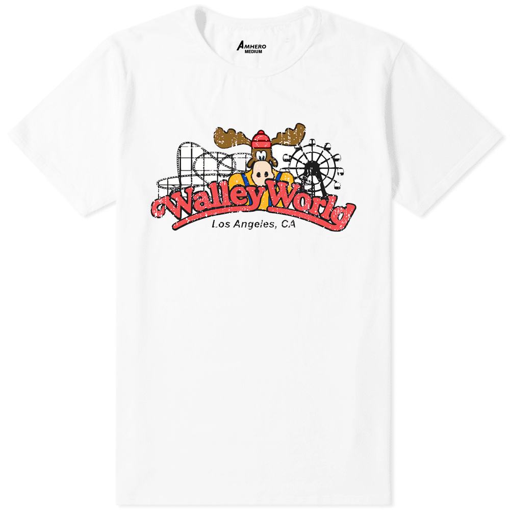 Wally World T-Shirt White - Amhero