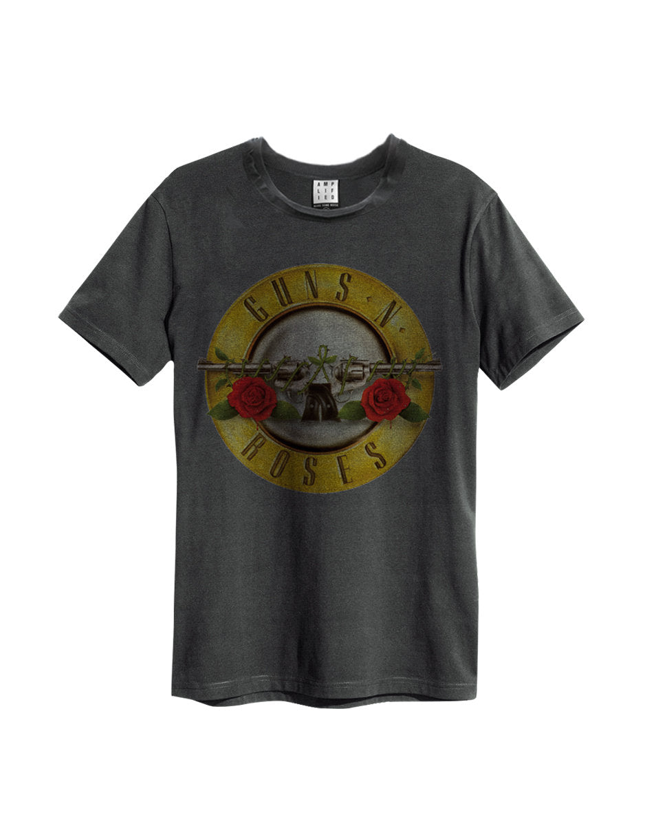 Guns n Roses Drum T-Shirt Grey - Amhero