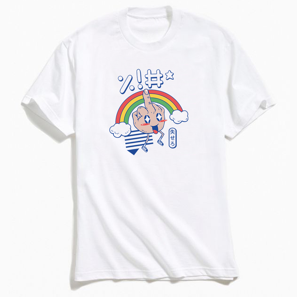Kawaii As Fck T-Shirt White