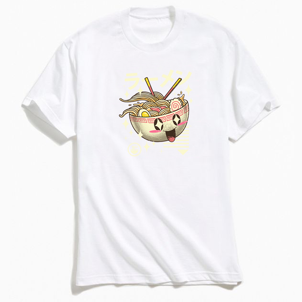 Kawaii Ramen T-Shirt White