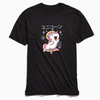 Vincent Trinidad Kawaii Unicorn T-Shirt Black - Amhero