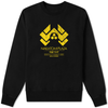 Nakatomi Plaza Sweater Black & Yellow - Amhero