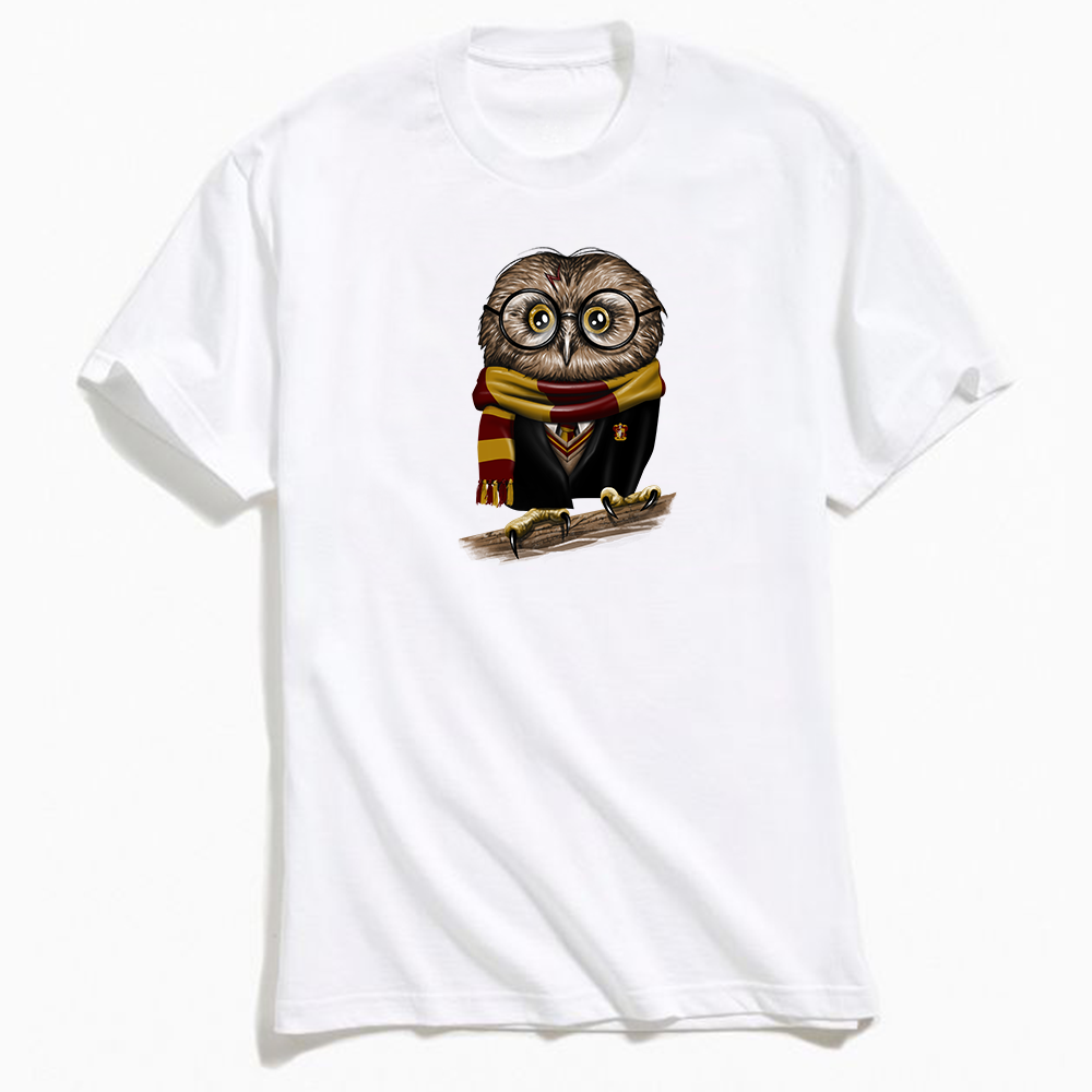 Owly Potter T-Shirt White