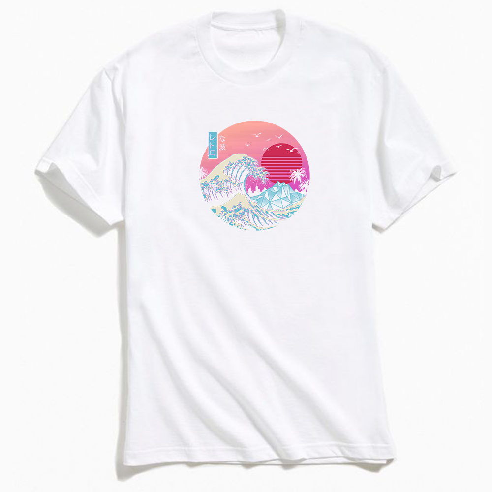 Vincent Trinidad The Great Retro Wave T-Shirt White