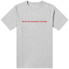 We're Not In Hawkins Anymore T-Shirt Grey - Amhero