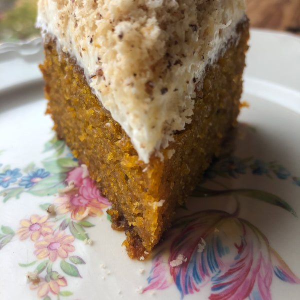 Carrot Cake with Hazelnut