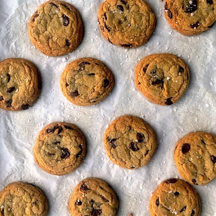Salted Chocolate Chip Cookies (6)
