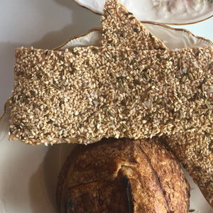 Fennel Sesame Crackers