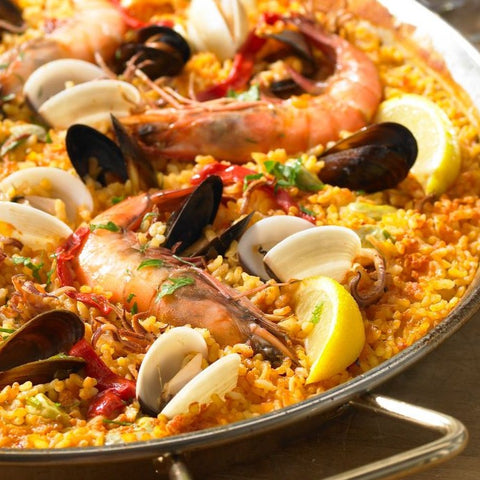 Spanish Paella (SERVES 2)