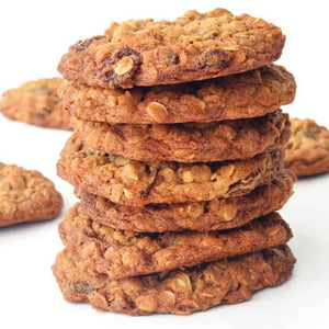 Chewy Oatmeal Cookies with Sultanas (6)