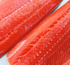 Sockeye Salmon Side