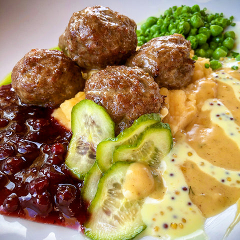 Swedish Meatballs (SERVES 2)