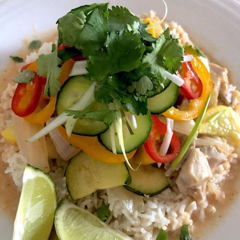 Thai Curry (SERVES 2)