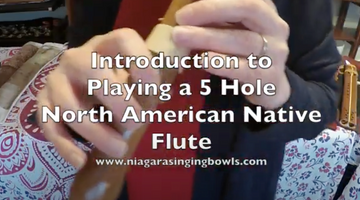 Quick Introduction to Playing The Flute