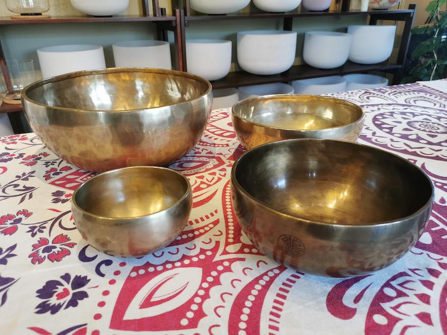 Awaken : A#2, F3, F#3 and A4 using bowls 59, 74, 75 and 116