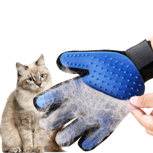 Silicone Pet Grooming Glove For Cats and Dogs