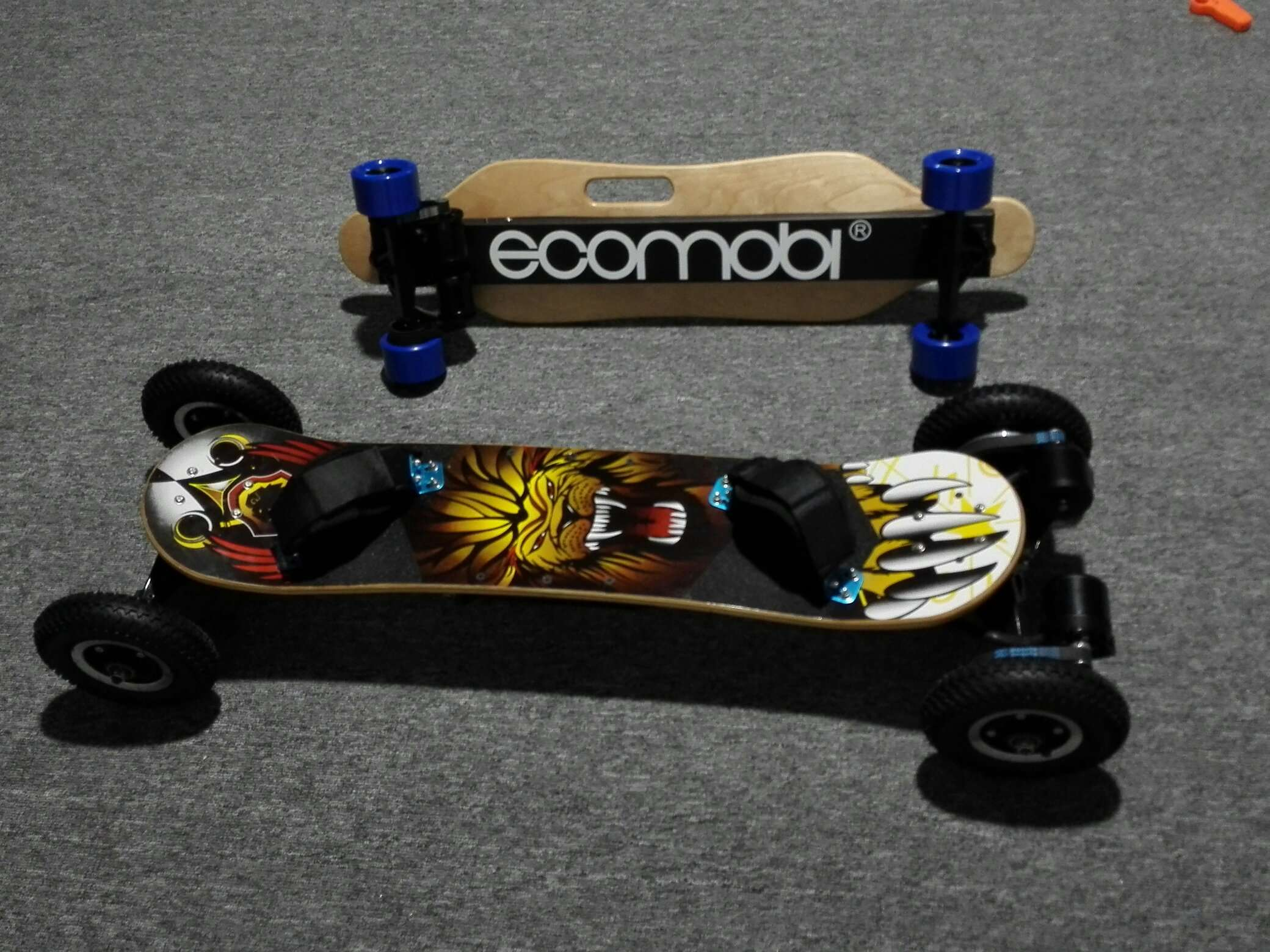 ecomobl ecomobi All terrain off road electric skateboard esk8 AT board high quality cheap price best top seller popular faster farther more fun street long mountain board ride skate samsung battery  evolve meepo backfire baja exway boards 14k watts power