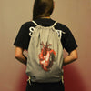 Infected Heart Drawstring Bag