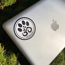 Load image into Gallery viewer, Pet Yogis circle vinyl sticker