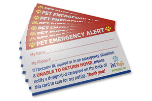 My Pet Is Home Alone Cards