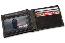 Load image into Gallery viewer, Pet Emergency Alert Card in wallet