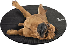 Load image into Gallery viewer, Bullmastiff Dog on Round Pet Yoga Mat