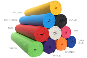 Pet Yoga Mat Rolls - Colors