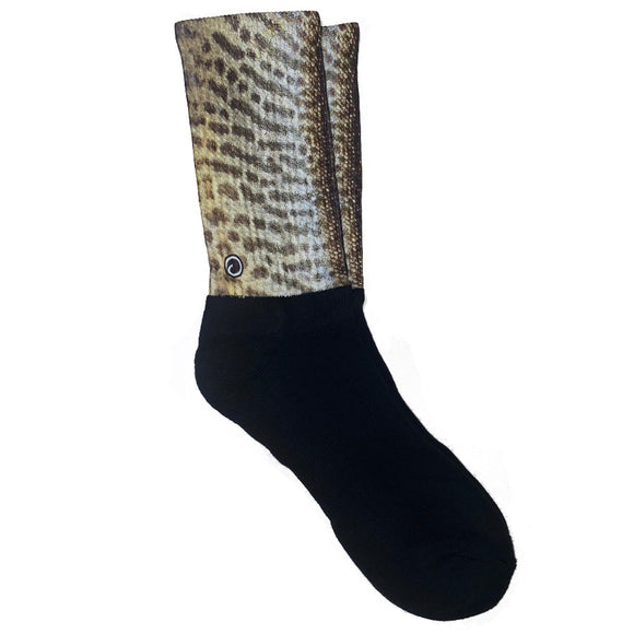 Tiger Muskie Fish Socks