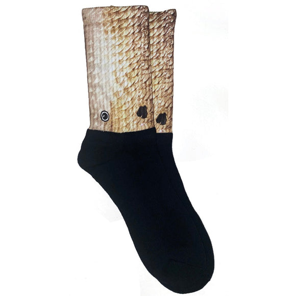 Red Drum Fish Socks