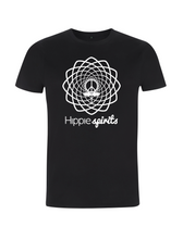 Load image into Gallery viewer, Hippie Spirits Tee Black