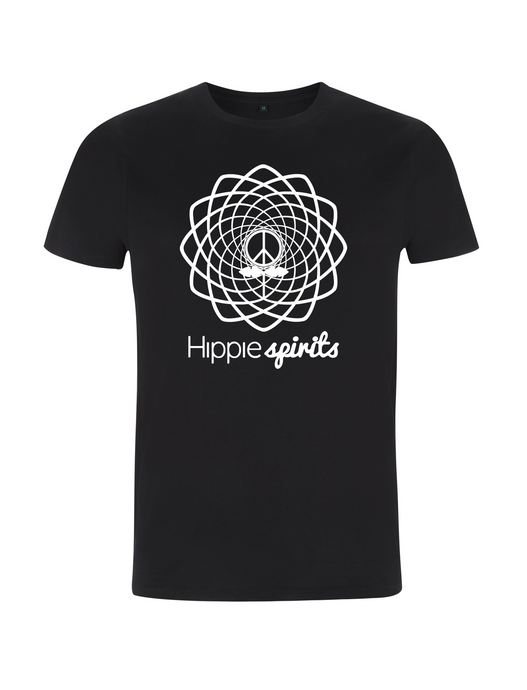 Hippie Spirits Tee Black