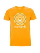 Load image into Gallery viewer, Hippie Spirits Tee Gold