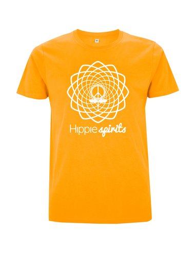 Hippie Spirits Tee Gold