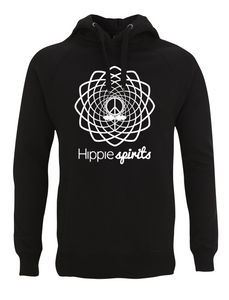HIPPIE SPIRITS HOODED SWEAT BLACK