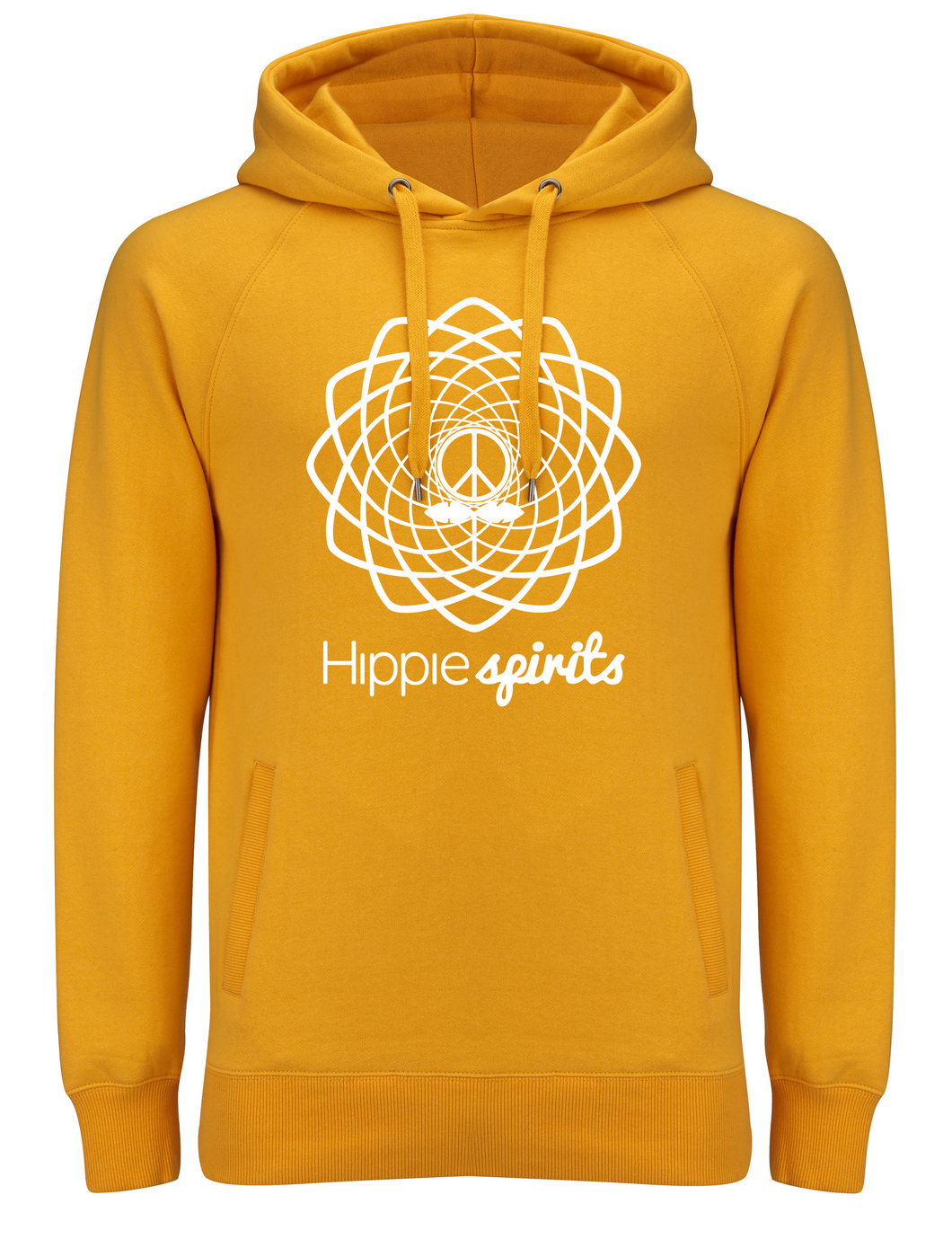 HIPPIE SPIRITS HOODED SWEAT GOLD