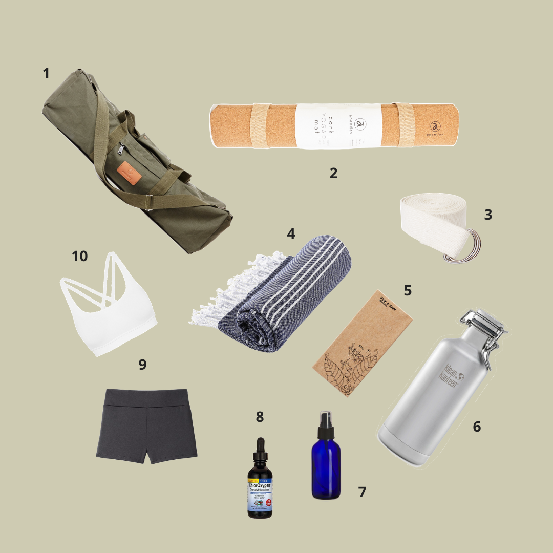 Ananday Journal — 10 Eco Essentials For Your Yoga Bag