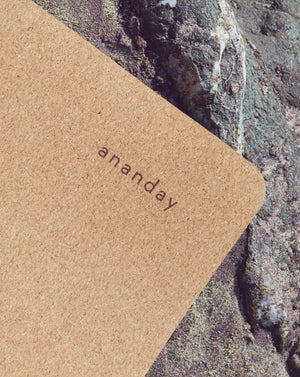 Ananday Cork Yoga Mat - Ananday