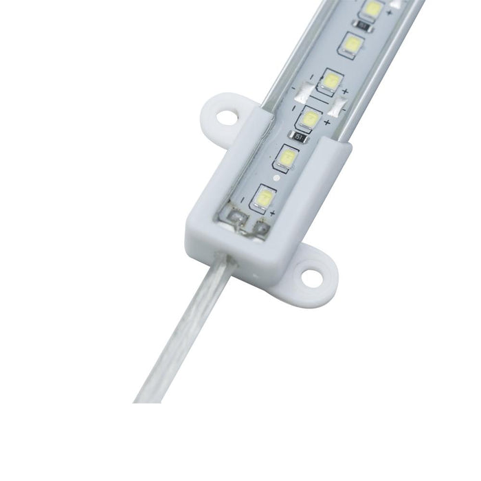 12VDC Waterproof IP65 SMD3528-36-IR Infrared (850nm/940nm) LED Linear Rigid Strip, 36LEDs 3.6W per piece - LEDStrips8