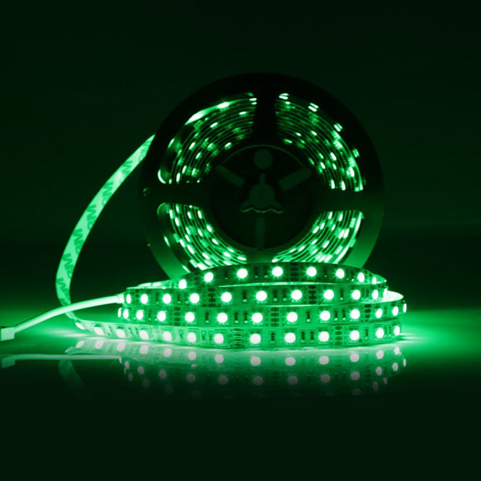 SMD5050-300 RGB Color Changing High Density Tri-ChipFlexible LED Strips 60 LEDs Per Meter 10mm Width - LEDStrips8