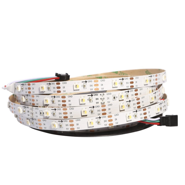 LED Flexible Strip Lights - Addressable RGB/RGBW Color