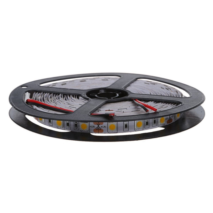 16.4Feet (5Meter) Roll SMD5050 300LED 12VDC 72Watt Rated True Color CRI95+ High Color Accuracy LED Flexible Strip Light that Produce 380nm-780nm Full Spectrum Natural Light
