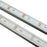 5 / 10 Pack SMD5630 Rigid LED Strip lighting 72LEDs per Meter with U Aluminum Shell - LEDStrips8