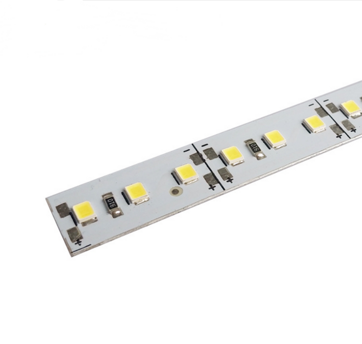 5 / 10 Pack SMD2835 Rigid LED Strip lighting with 120LEDs per meter Non-Waterproof LED Light Bar - LEDStrips8