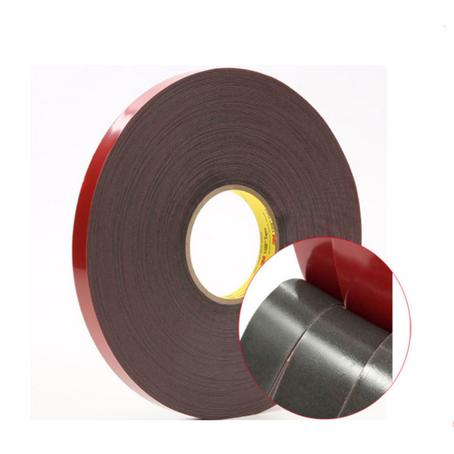 30M (100Feet) Roll 1mm Thick Red Coating VHB Tape, Heavy Duty Mounting Tape Adhesive, Foam Tape for Led Strip Lights, Home and Office Decoration - LEDStrips8