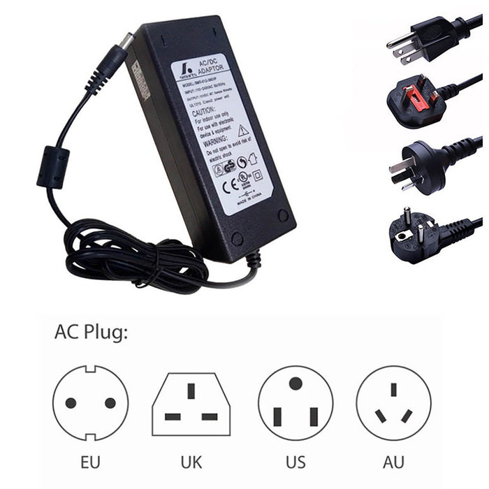 UL CUL Certificated  Desk Top CE Certificated LED Adapter Power Supply 110-220V AC to 12V/24V/5V DC - LEDStrips8