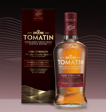 Tomatin Cask Strength Whisky