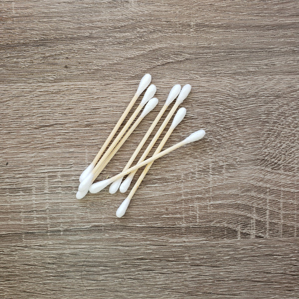 Organic Cotton Bamboo Swabs
