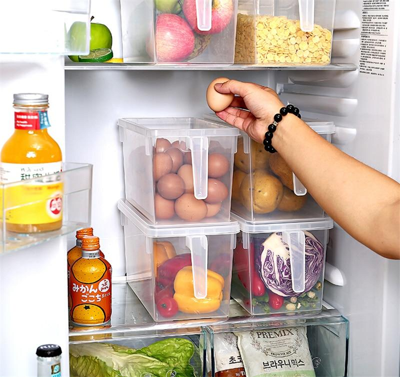 Sealed Refrigerator Food Organizer Storage Boxes
