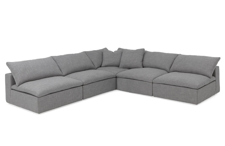 Cabo (Outdoor) 5 Seat Armless Sectional