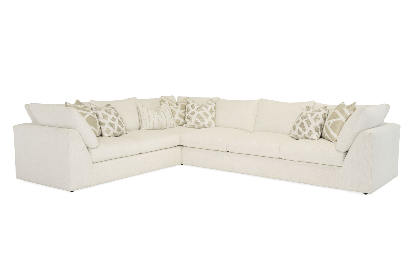 Cristiano 2pc. Sectional (with Correlate Pillows)  New!